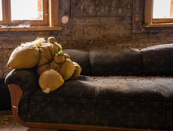 sofa furniture rubbish removal